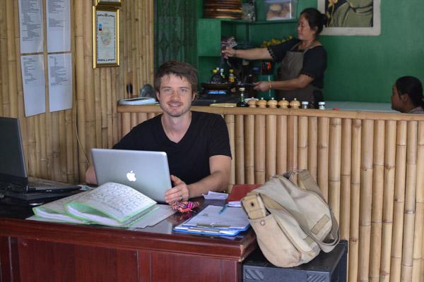 Ryan Crossett develops job specific English curriculum
