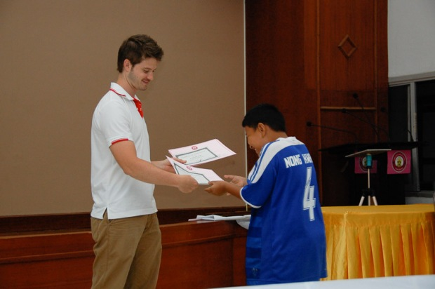 Children's community English class Thailand