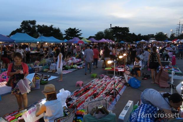 Bangkok weekend market