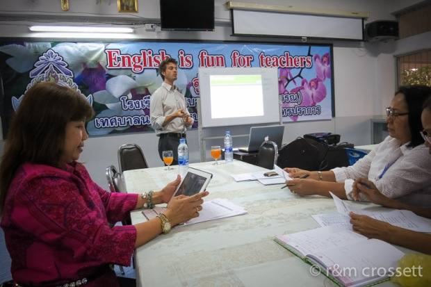 English for Bangkok school teachers